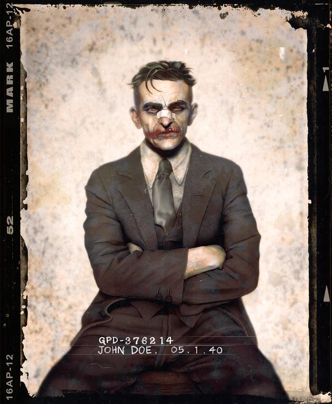 20年代黑幫風格的【蝙蝠俠】經典反派!