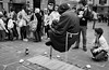 MISTERO? puzzling (cj limax) Tags: streetartist magician magia levitazione