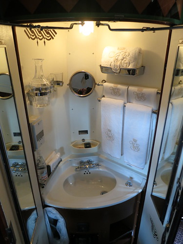 Venice-Simplon-Orient Express washbasin