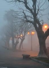 Alghero nella nebbia (Valeria Makeup & Maxlanoce Photography) Tags: sardegna italy beautiful italia mare sardinia nebbia atmosfera alghero passeggiata bastioni sardiniaitaly algheroitaly beautifulsardinia