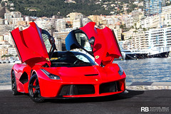 Ferrari LaFerrari (Raphal Belly Photography) Tags: red paris car french rouge photography eos la photo shoot riviera photographie photoshoot ferrari casino montecarlo monaco 98 mc belly exotic 7d passion lf shooting raphael rosso supercar spotting supercars raphal sance f70 rossa principality 98000 laferrari