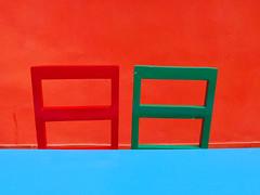 Kind of abstract (Sallyrango) Tags: orange abstract geometric wall colours bright dominicanrepublic geometry vibrant caribbean santodomingo brightcolours brightbuilding brightbuildings