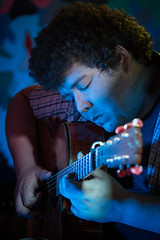 Telford's Warehouse Open Mic (13th April 2014) (Mark Carline) Tags: open chester mic telfords