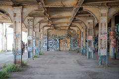 (Marcin Wichary) Tags: station train graffiti oakland 16thstreet