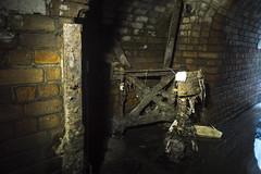 Dsanktuary's Ghost Gate (darkday.) Tags: urban underground gate australia brisbane drain explore urbanexploration qld queensland exploration stormdrain urbex dsanktuary brickdrain dsanktuarysghost