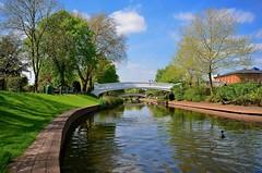 River Sow, Stafford (Ugborough Exile) Tags: uk england nikon staffordshire midlands stafford 2014 sigma1020mm d7000
