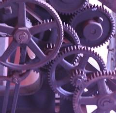 Jacquard Loom Gears (jaysmom1361) Tags: weaving looms westinghouseloom jacquard