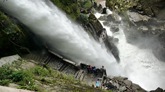 Pailn del Diablo (xtremepeaks) Tags: travel people wet stairs america outdoors waterfall ecuador south tourists explore diablo banos cascadas 2016 explored thechallengefactory