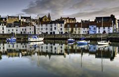Harbour Dawn (Gringer1) Tags: reflections dawn scotland harbour fife stmonans eastneuk