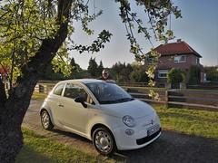 Mden (Aller), ... Abschiedsfoto FIAT 500 (bleibend) Tags: olympus goodbye abschied omd servus 2016 m43 mft em5 mdenaller olympusomd olympusem5