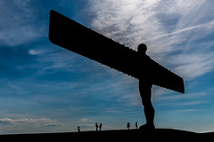 Angel of the north (NickCarterPhotography) Tags: sculpture silhouette angel north gateshead antony gormley