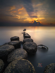 The Rays (Jose Hamra Images) Tags: sunset bali sunrise indonesia landscape denpasar sanur matahariterbit karangbeach