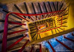 Looking Back (James Neeley) Tags: abstract london stairway wellingtonarch jamesneeley
