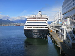 IMG_2643 (sevargmt) Tags: vancouver bc british colombia canada cruise ncl norwegian pearl may 2016 downtown place holland america volendam ship
