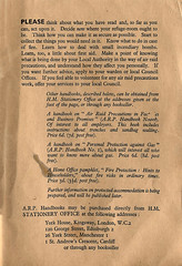 The Protection Of Your Home Against Air Raids - Issued 1938 (Kev Gregory (General)) Tags: world england house home against stairs vintage germany found book office war europe britain air fear 1938 under nation first save gas read aid your ii rails second government after british years fighting supplies gregory population bombs kev protection 77 defence hostile meant anxiety publication fascinating outbreak immediate aspects defend titled the required measures consideration prior simplistic precautions issued declared of