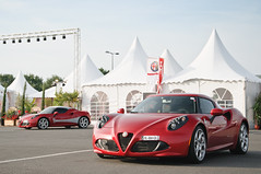 4C.4C (BenjiAuto (Ratet B. Photographie)) Tags: road red cars sc sport nikon gear exotic alfa rosso supercar 4c 8c d90 romo vigeant ratet