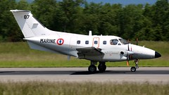 87 (Breitling Jet Team) Tags: de la marine basel xingu flughafen 87 bsl mlh nationale euroairport francaise emb125