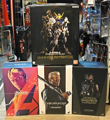 Recent Arrivals  More Hot Toys and Gundam Kit  14 June 2016 (My Toy Museum) Tags: hot toys star high order tie first vision resolution wars arrival terminator gundam recent pilot guardian avengers arrivals bandai barbatos