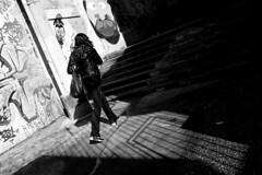 3114 (augusto gomes) Tags: ruagualaxo paraso sopaulo brasil pretoebranco escadas sombras streetart grafite