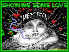 graffiti sticker xholo (marcomacedo3) Tags: cholowiz wizards graffiti characters stickers collabs slaps nazer26 mtsk skulls clowns street art paste trade cartoons labels sketch spray can