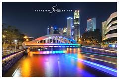 boat quay - rainbow bridge (fiftymm99) Tags: bridge nikon singapore d750 cbd boatquay rainbowbridge clarkequay d700 fiftymm99