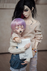 Dan&Even (necofenix) Tags: bjd dim hybrid boyslove larina dollzone dollchateau