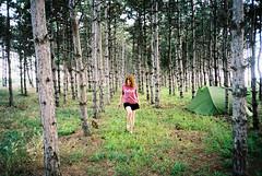 (spoe.) Tags: camping sea black pine 35mm coast nikon forrest kodak bulgaria portra compact 160 af600