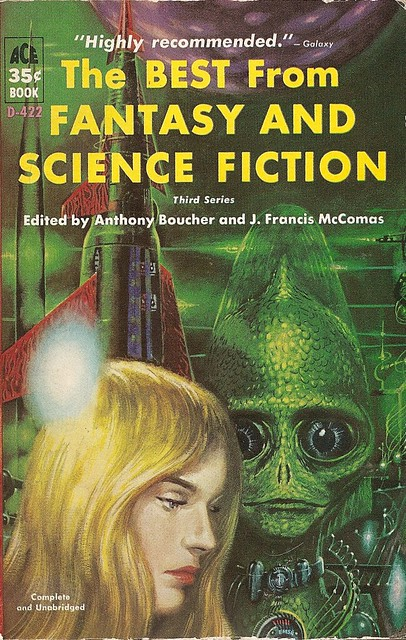 Anthony Boucher (ed) - The Best From Fantasy And Science Fiction, Third Series (Ace 1960)