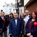 Labour Party activists in Hastings Old Town