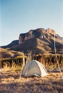 Tenting in the Vast Southwestern Landscape