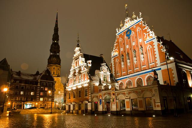 Town Hall Square. Riga. Latvia