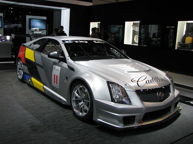 chicago cars racecar illinois luxury automobiles mccormickplace cadillacctsv 2012chicagoautoshow