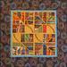 "Second Place, Karen Grant, ""African Tiles"""