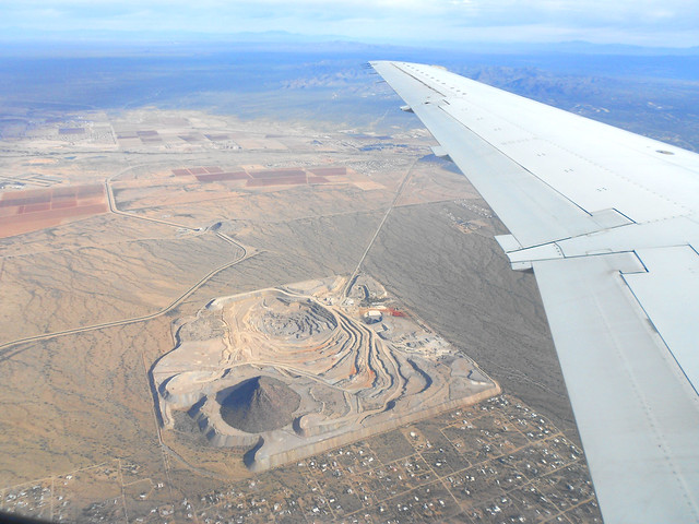 Flying over Tucson - Quarry