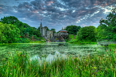 Gargamel's Castle (CliffPetersonPhotography) Tags: park newyorkcity canon landscape photography central smurfs 1022mm hdr turtlepond belvederecastle canon1022mm landscapephotography canon7d turtlepondcentralpark gargamelscastle