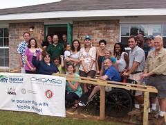 Handicapped accessible (Habitat for Humanity of Louisiana) Tags: dedication children keys banner gifts staff kenner 2009 homeowner subcontractor caseyadams jimpate jp22 080809 partnerfamily eddiefreeman 4105elastate andreasmithbailey christinaconnally danncahoon elastate elizabethlisle ginastilp jayyoungs michelleharmon nicolehymel paddylambert sarrahevans pf036
