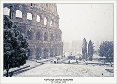 Nevicata storica su Roma (Michele Cannone) Tags: winter snow rome weather
