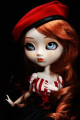 Oxygne (Konato) Tags: blue red anne eyes wig ann shirley pullip custo oxygne dashka as konato