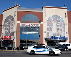 Atlantic Center Mall, Brooklyn, New York City (jag9889) Tags: county street city nyc blue ny newyork car brooklyn burlington mall shopping automobile downtown factory coat atlanticavenue police nypd pedestrian scene kings transportation vehicle marshalls 78 lawenforcement fortgreene finest precinct atlanticcenter firstresponders newyorkcitypolicedepartment p078
