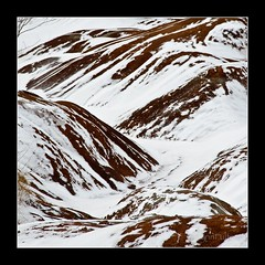 Nature's frosting (Lynn McFulton) Tags: snow ontario cold freezing 15 soil badlands cheltenham 3652012 2010yip