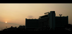 Novotel (puzzlescript) Tags: sunset sun beach hotel nikon novotel vizag kesari visakhapatnam ravigopal