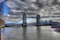 (Alborz Shokrani) Tags: uk bridge england sky london tower water thames clouds towerbridge river unitedkingdom united kingdom hdr alborz 2011 shokrani ringexcellence dblringexcellence tplringexcellence alborzshokrani eltringexcellence