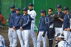 DSC_1033 (mechiko) Tags: 120205 横浜ベイスターズ 大原慎司 横浜denaベイスターズ 2012春季キャンプ