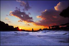 ...a new day has come.... (zio paperino) Tags: italien schnee trees winter sky italy sun snow rome roma clouds sunrise landscape soleil nikon europa europe italia alba nieve tokina cielo invierno neige 12mm sole amanhecer aube d90 ziopaperino mygearandme mygearandmepremium