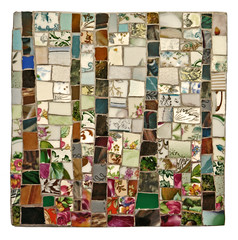 'Little Forest'  Artist:  Dorit Landau (Lin Schorr) Tags: art mosaic giving fundraising donations glassart mdecinssansfrontires doctorswithoutborders onlineauction mosaicart linschorr artdonations linschorrcom mosaicauction mosaicdonations beyondbordersmosaicauction doritlandau