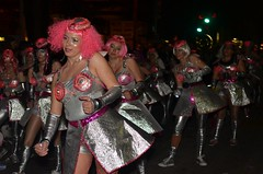 The Camel Toe Lady Steppers in the Krewe of Muses 2012 Parade