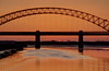 England - Runcorn - Jubilee Bridge At Sunset From Wigg Island - HDR - 27th March 2012-79_80_81.jpg (Redstone Hill) Tags: bridge sunset england cheshire tripod hdr mersey jubileebridge runcorn halton rivermersey runcornwidnesbridge canon50d manfrotto055xprobtripod