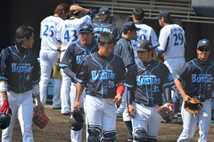 DSC_0836 (mechiko) Tags: 横浜ベイスターズ 120212 黒羽根利規 横浜denaベイスターズ 2012春季キャンプ 高城俊人