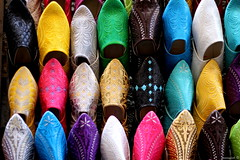 colorfull slippers. (Moneyfish.) Tags: africa c