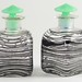 337. Pair of Vintage Art Deco Dresser Bottles